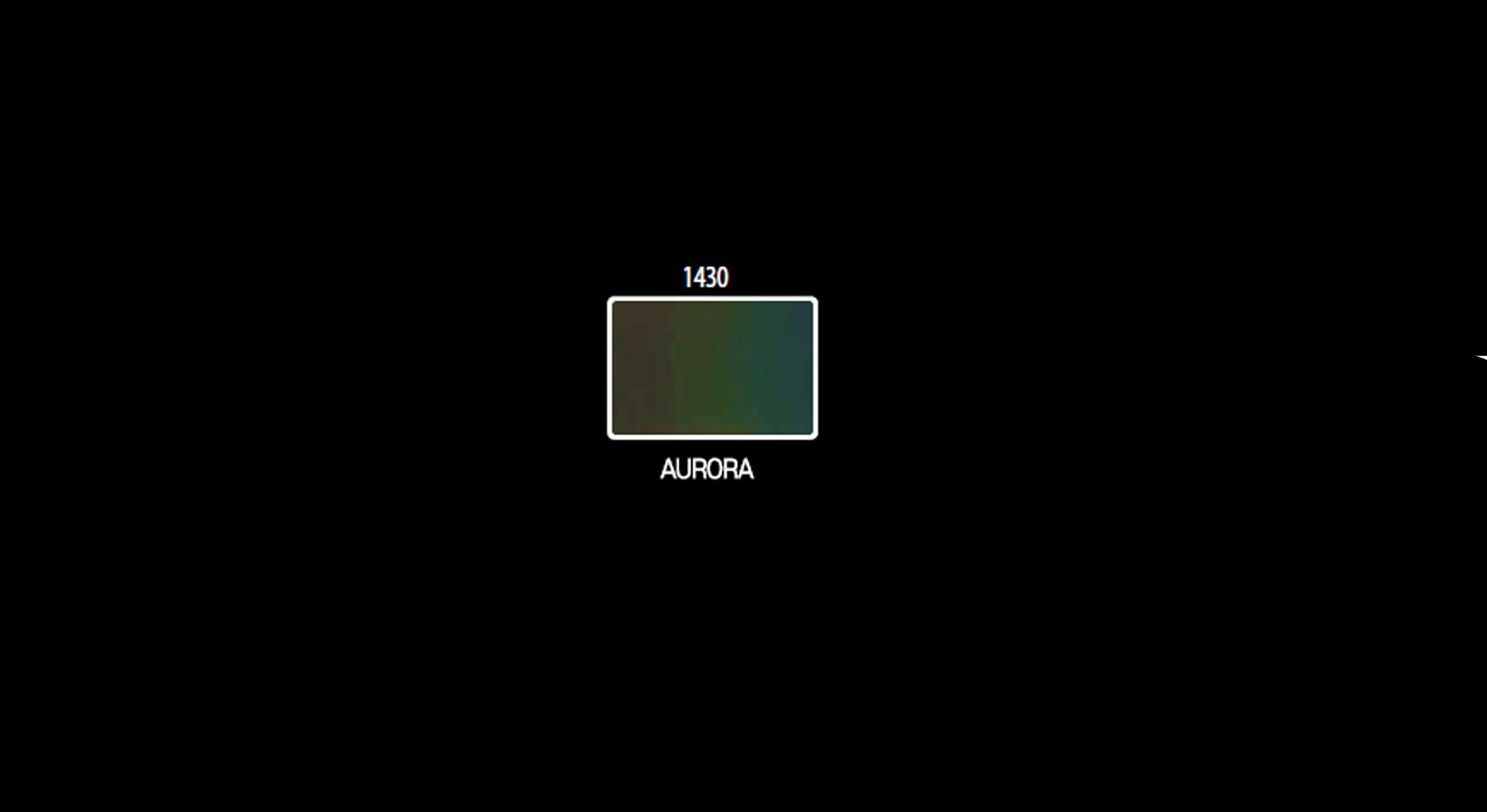 Aurora color